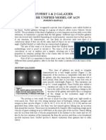 Seyfert I and II Galaxies and the Unified Model of AGN