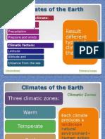 Climates Landscapes