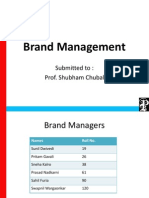 Brand Management Education Inst