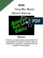 Mentor Manual 2009