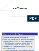 New Trade Theories- Porter