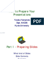How to Prepare Your Presentation 3