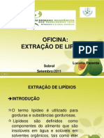 Extração de Lipídios
