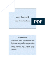 4 Array Dan Record