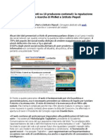 Reputazione web ricerche PhiNet e Istituto Piepoli