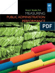 Public Administration Performance