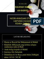 Khalifah Harun Ar-rashid