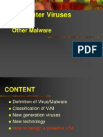 Computer Viruses & Other Malware