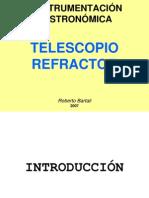 Telescopio Refractor