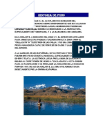 Historia de Puno - Peru