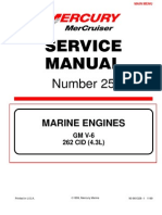 Mercruiser Service Manual _25 GM V6 1998 - 2001