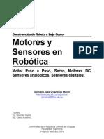 Motores y Sensores Para Robots