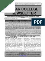 Podar College Nawalgarh Jhunjhunu Shekhawati Newsletter 1 Oct 2011