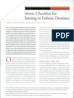 Journal-A Dental Esthetic Checklist for Treatment Planning in Esthetic Dentistry