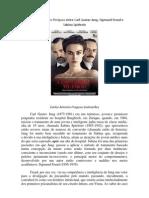 Um Método Muito Perigoso entre Carl Gustav Jung, Sigmund Freud e Sabina Spielrein