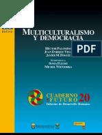 Multiculturalismo y democracia, Cuaderno de Futuro Nº 20.