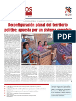 Diálogos en democracia Nro. 5 Reconfiguración plural del territorio político