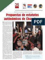 Diálogos en Democracia Nro. 8 Propuestas de estatutos autonómicos de Chuquisaca