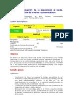 Evaluacion de La Expo Sic Ion Al Ruido