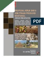 Proposal Penawaran Kemitraan Produksi Bioetanol