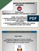 Presentation Kertas Cadangan Kajian Tindakan
