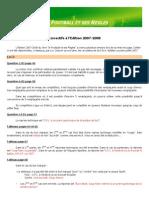 Correct Ifs Foot Et Ses Regles 2007-2008
