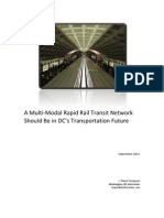 A Multi-Modal Rapid Rail Transit Network Should Be in DC's Transportation Future