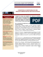 Oferta & Programa- Cursuri CISCO - 2011