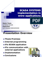 SCADA SYSTEMS Implementation in Www Applications