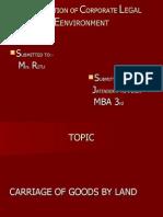 Presentation of Corporate l