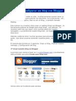 Crear y Configurar Un Blog Con Blogger