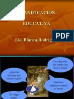 Planificación Educativa