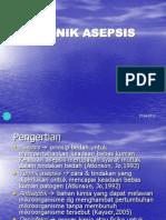 TEKNIK ASEPSIS