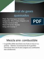 Control de Gases Quemados