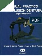 Manual Practico de Oclusion Dentaria MANNS