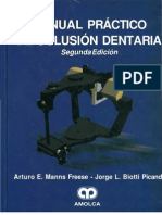 Manual Practico de Oclusion Dentaria MANNS