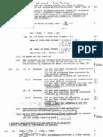1992 Paper 1 Marking Scheme