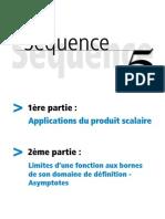 Applications Du Produit Scalaire - Limites de Fonctions Et Asymptotes