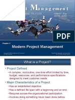 Project Management Chapter 1 Gray n Larson