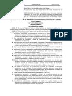 Reglamento LOPSRM DOF 28072010