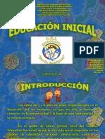 Exp. de Educacion Inicial