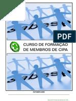 Manual de Formac de Membros Da Cipa