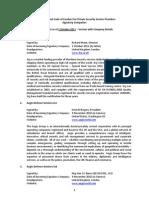 ICoC Signatory Companies - October 2011