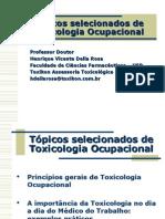 Aula - Toxicologia