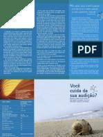 Panfleto - Saúde Auditiva