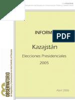 INFORME[1][1].KAZAJSTÁN.eleccionesPresidenciales