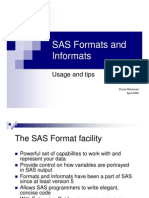 SAS Formats