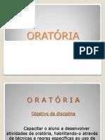 ORATÓRIA...