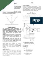 OPTICA I, Ciro William taipe Huaman,  Física Preuniversitaria
