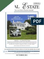 Real Estate on Nova Scotia's South Shore Oct 2011